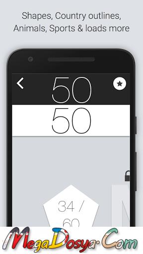 50 50 - Addictive Slicing Game