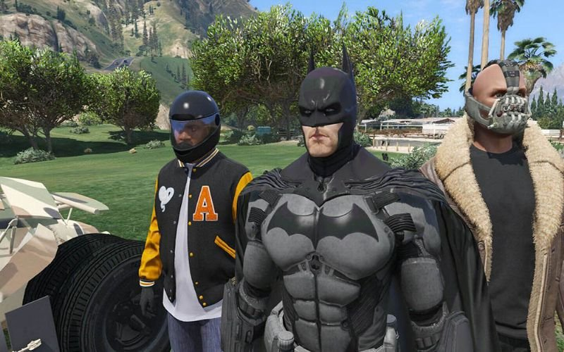 Batman Yarasa Adam Gta5 Hile Modu indir