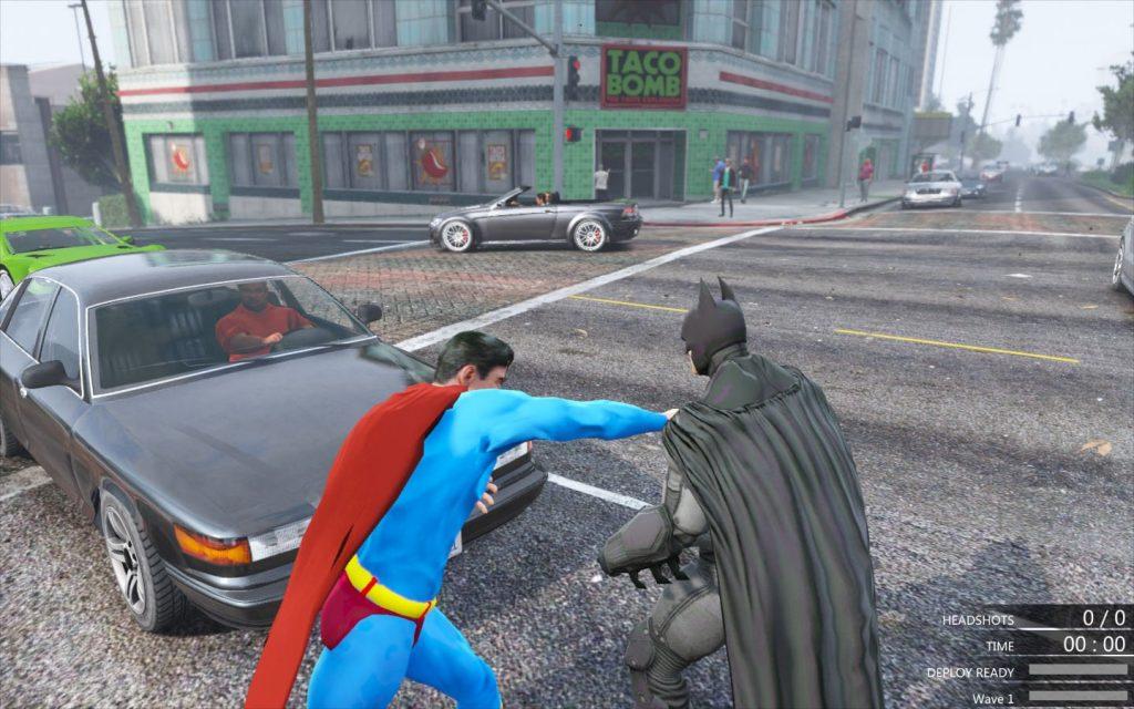 GTA 5 Batman Mod Hile