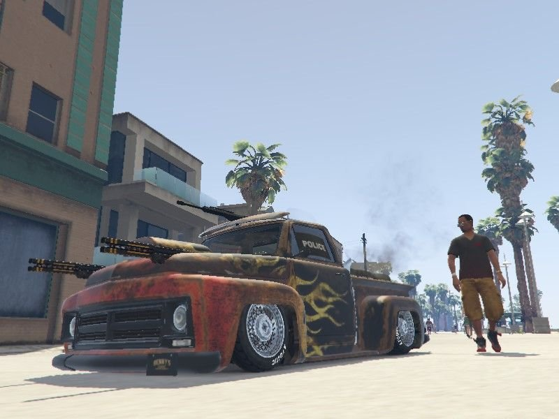 GTA 5 Hile Zombie Vehicles Arac Modu