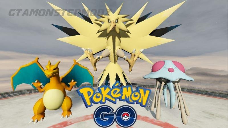 GTA 5 Yeni Hile Pokemon GO Skin Pack 1.0