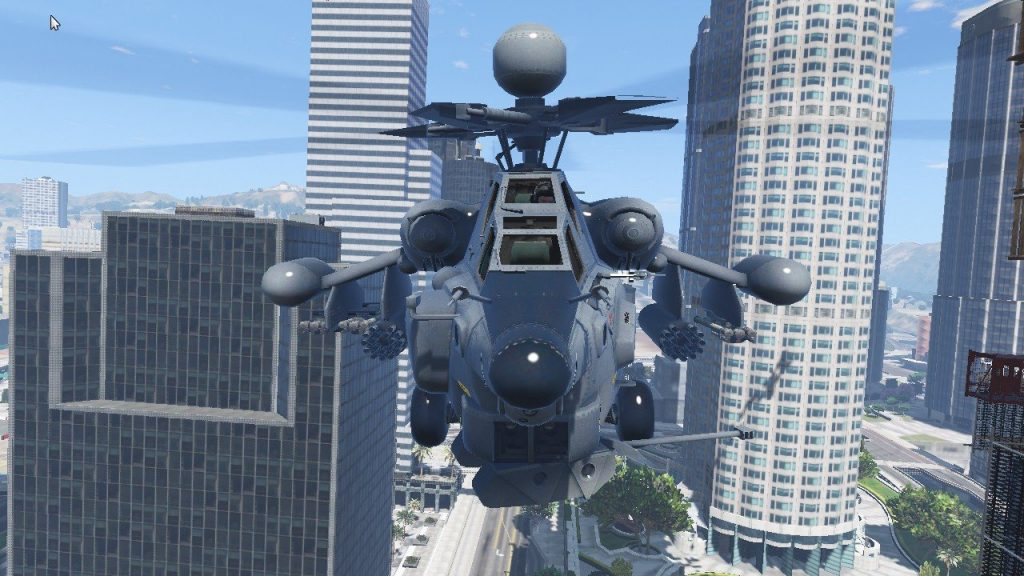 Gta 5 Hile Mi-28 Night Hunter Savaş Helikopter Modu