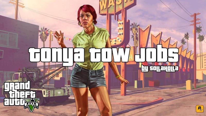 Gta 5 Hileleri Tonya Tow Jobs Mod indir