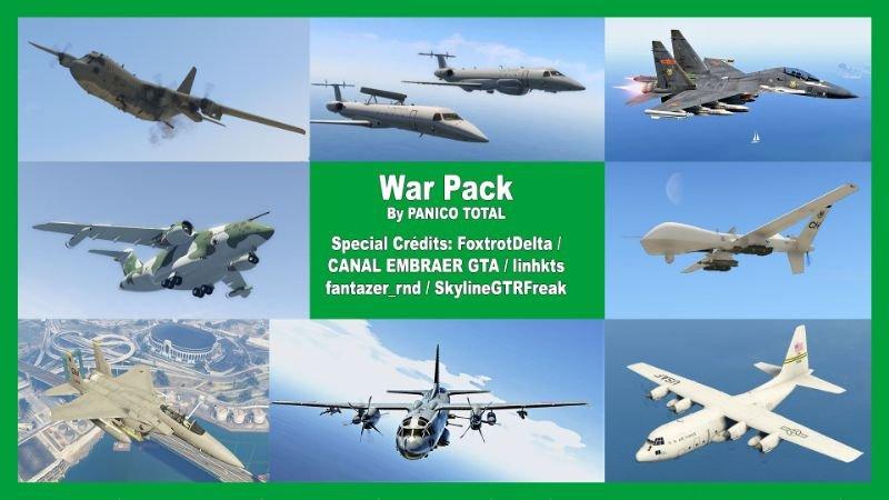 Gta 5 Hileleri War Pack Süper Ucak Modu