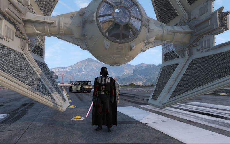 Gta 5 Star Wars Hile Mod indir