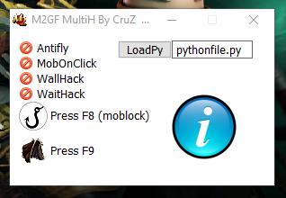 Metin2 Hile Multihack Antifly MobOnClick WallHack Damage Mob Lock Wait 7x