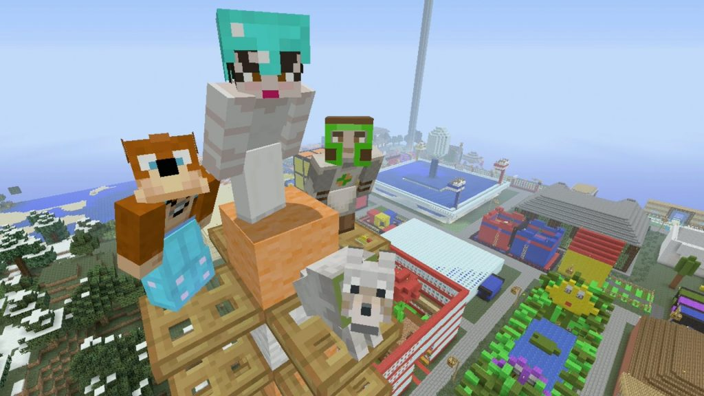 Minecraft Tumble PlayStation Store