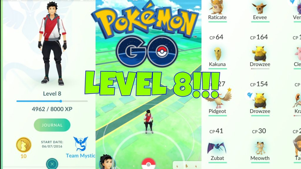 Pokemon Go level Seviyeleri