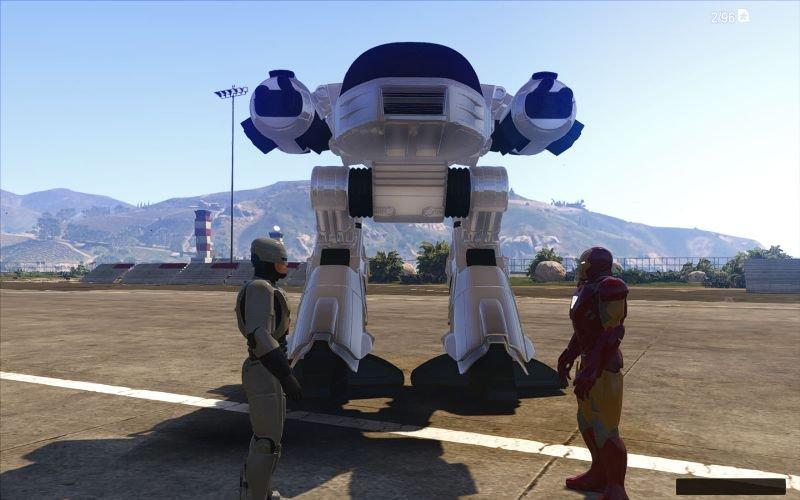 Robocop Gta 5 Mod indir