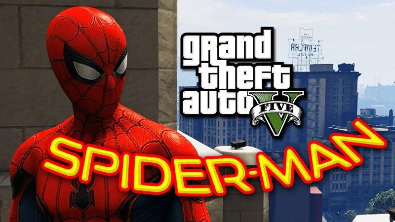 Spider-Man - Civil War Gta 5 Hile
