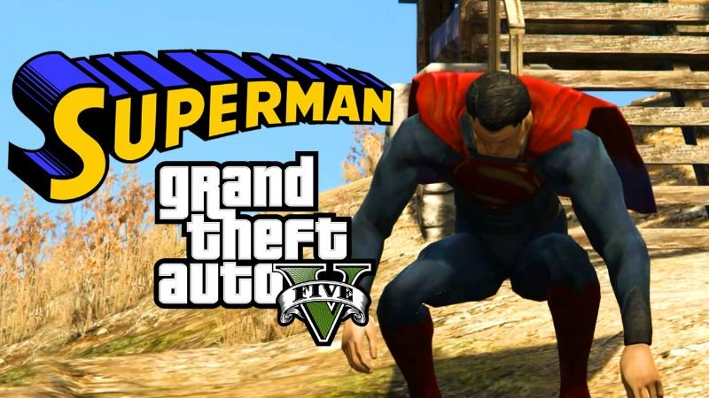 Superman Celik Adam Gta 5 Hile Modu