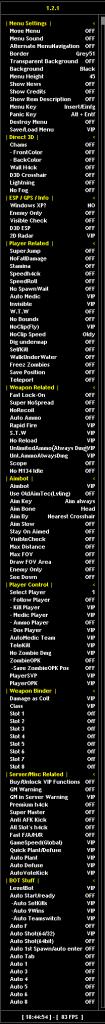 WarRock Hile SiroSix Public V2.2.3 Chams ESP ve Devamı