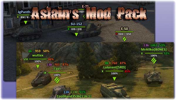 World of Tanks Hile Aslain's XVM Mod 9.15.1.1 v.00