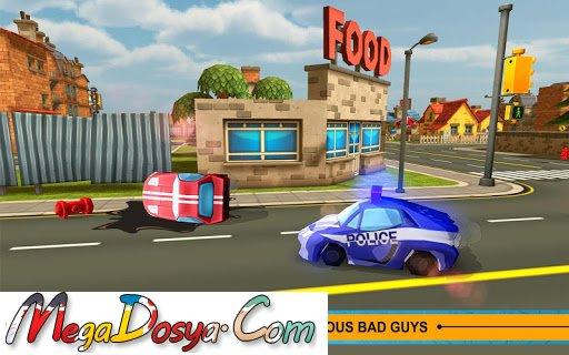 Blocky Cop Pursuit Terrorist