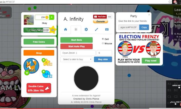 Agar Infinity Bot – mechaniker
