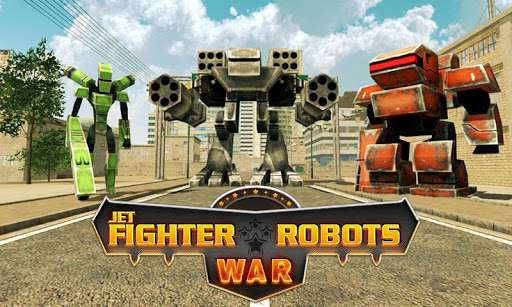 Jet Fighter Robot Wars
