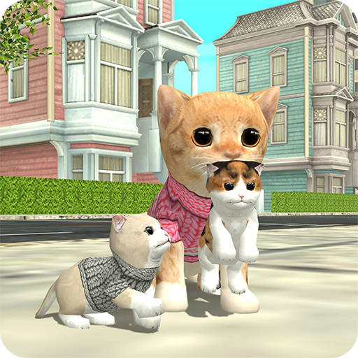 Cat Sim Online: Play with Cats  apk hile Mod indir